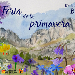 CARTEL FERIA DE LA PRIMAVERA BIESCAS